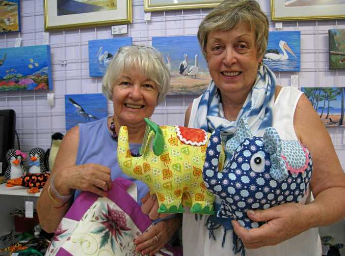 There will be plenty on offer at the Caloundra Arts Centre Association's annual Arts & Crafts Fair.