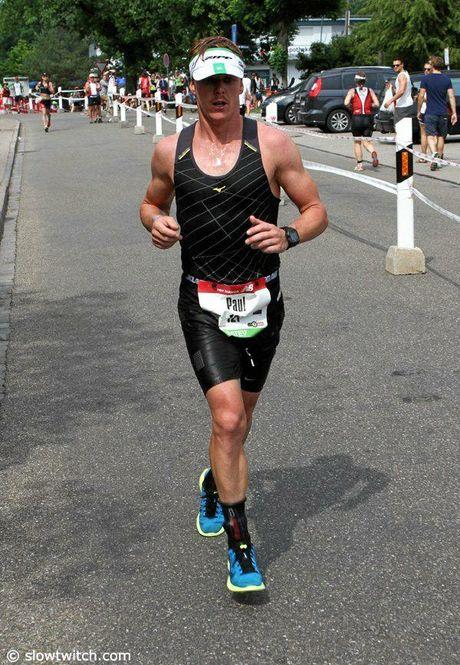 Peregian triathlete Paul Davies.