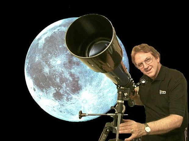 RARE EVENT: Dave Reneke and the 'Blue Moon'.