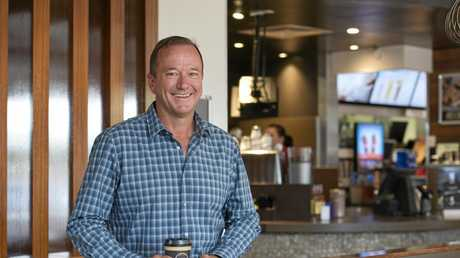 SUCCESS: Mark Ward hopes to introduce a McDonald's home delivery service in Toowoomba next year.