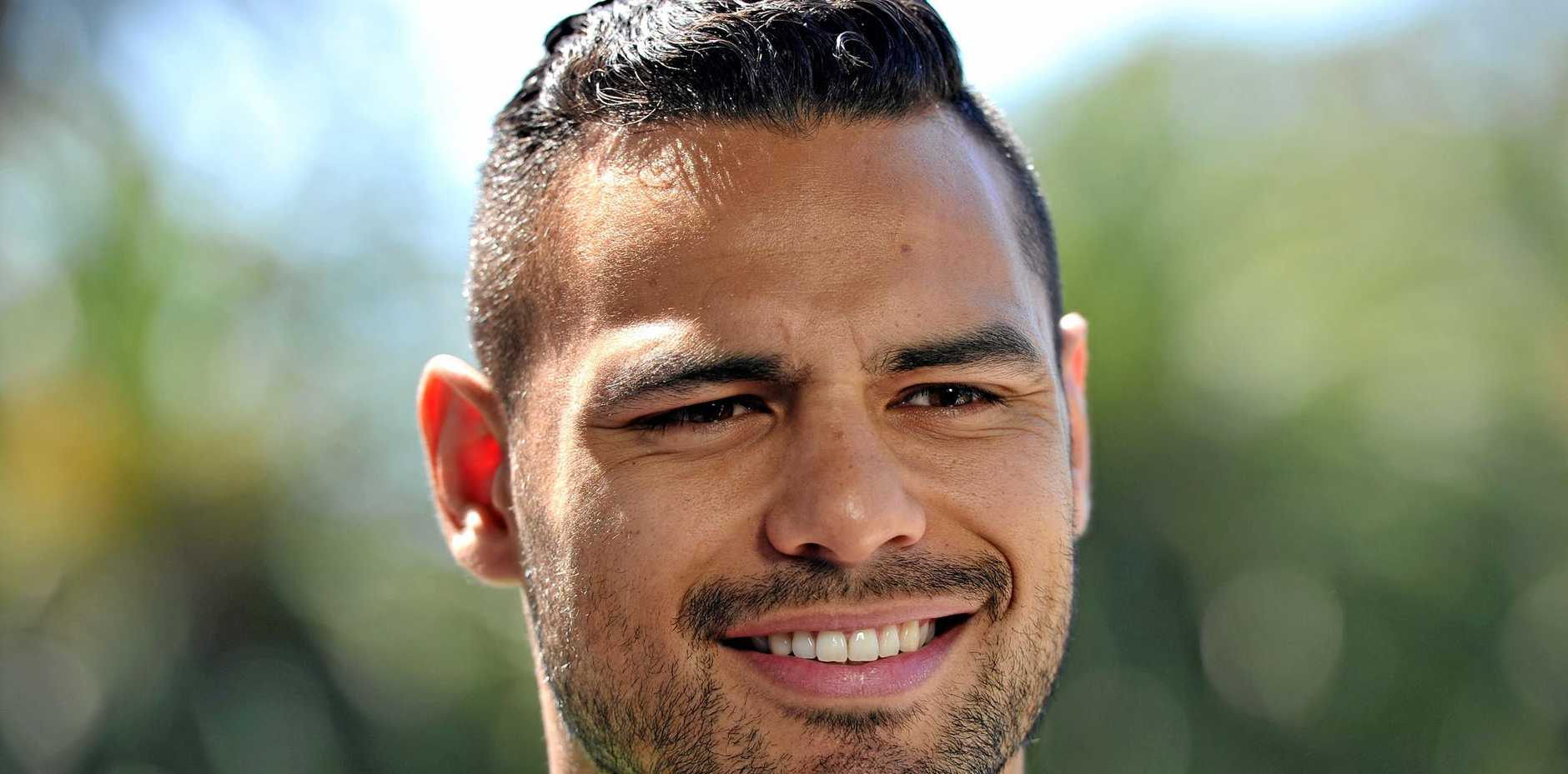 Former NRL player Ben Te'o has been named to play for the England rugby union side.