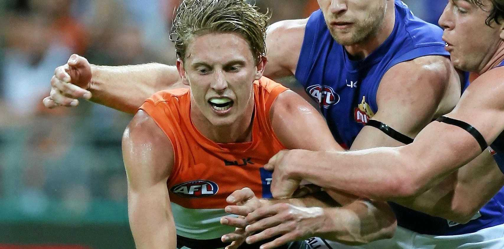 Lachie Whitfield of the Giants is facing a ban if charged with breaching the AFL's illicit drug code.