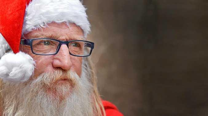 HELP NEEDED: Santa's little helper Colin Betts needs a little help himself this Christmas