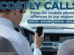 Northern Rivers mobile phone drivers fined $143,229