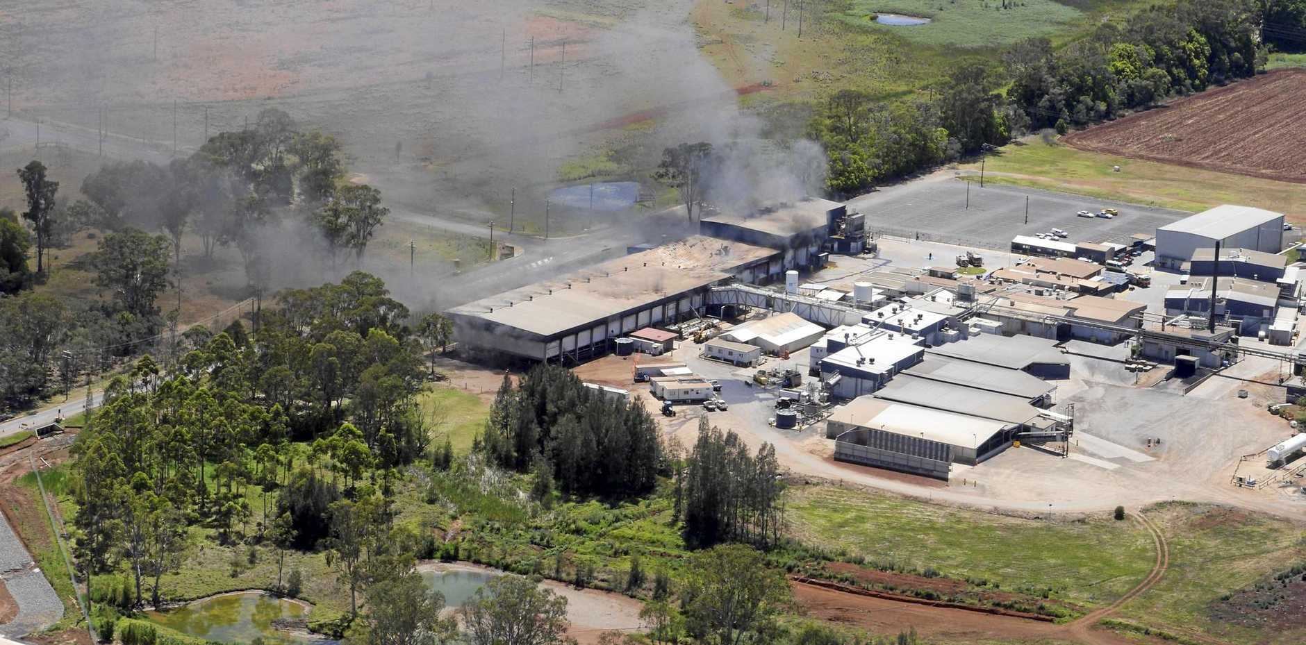 Fire destroyed the Swickers factory at Kingaroy but 120 boners are set to relocate to Ipswich and start work on Monday in a new facility.