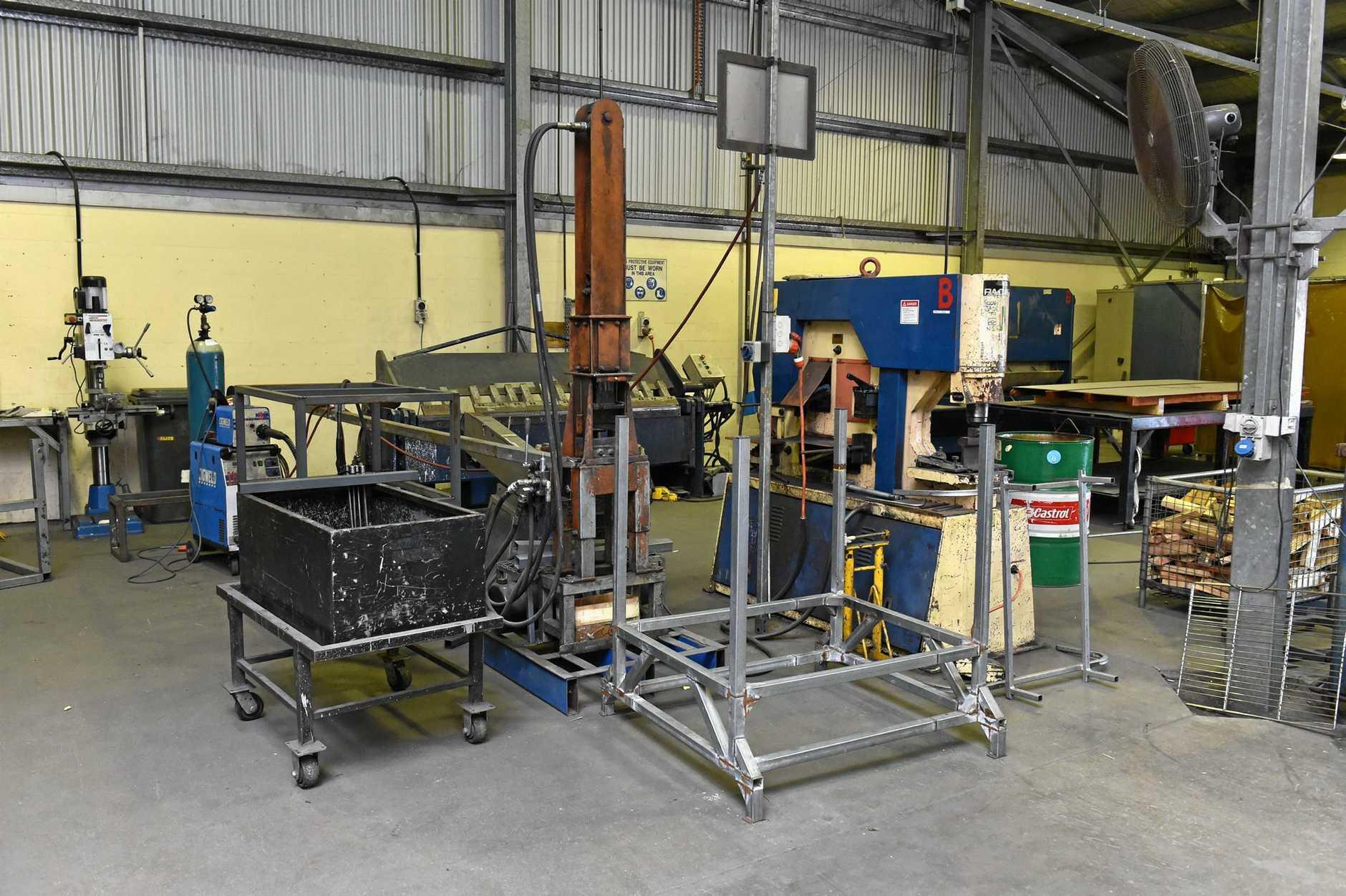 Maryborough Correctional Centre - metal workshop.