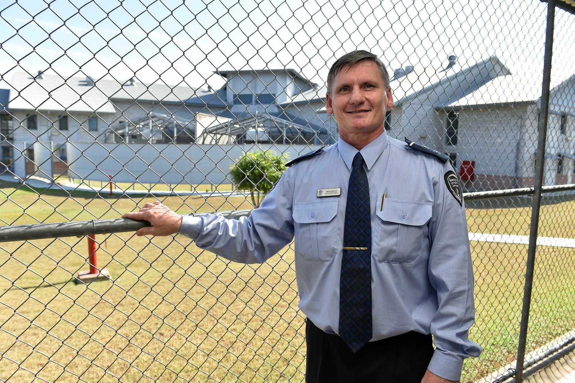 Maryborough Correctional Centre - General Mgr. Darryll Fleming.