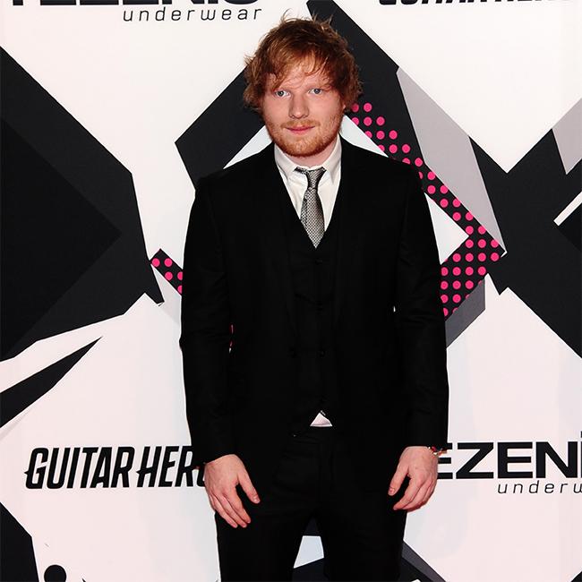 Singer Ed Sheeran