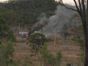 Explosions as fire breaks out in Kilkivan substation