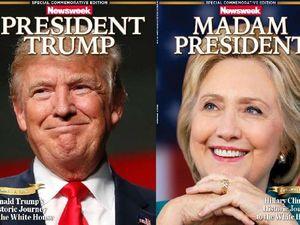 Newsweek gaffe: Madam President Hillary Clinton