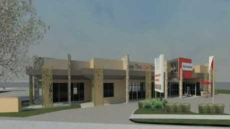 Artist impressions for the Drayton Rd MacDonaldtown complex.