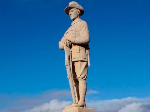 The much-loved Westbrook War memorial was restored in time for Remembrance Day.