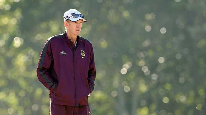 NO COMMENT: Brisbane Broncos coach Wayne Bennett has always had a tense relationship with the media.
