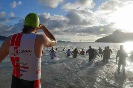 Action from the 2016 Hamilton Island Triathlon.