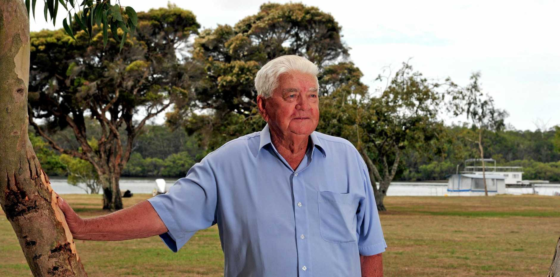 Noosa Local Legend Stan Chandler who passed away last week.