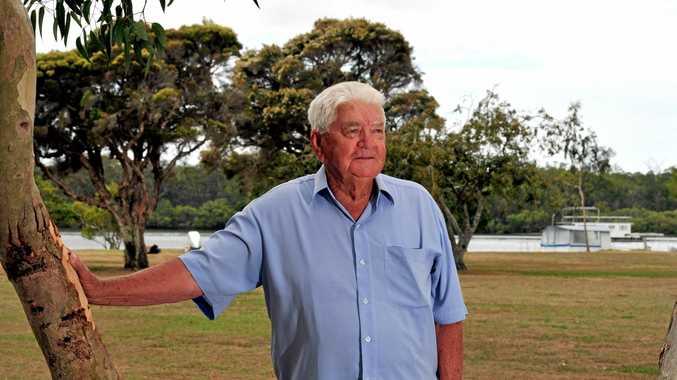 Noosa Local Legend Stan Chandler who passed away last week.
