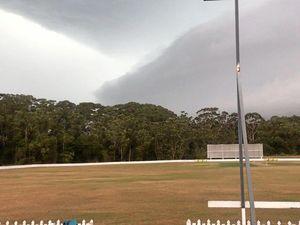 Wild weather lashes Scorchers at Buderim