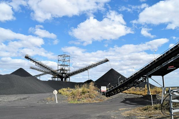 Stanmore Coal's coal handling and processing plant. Photo: Emily Smith