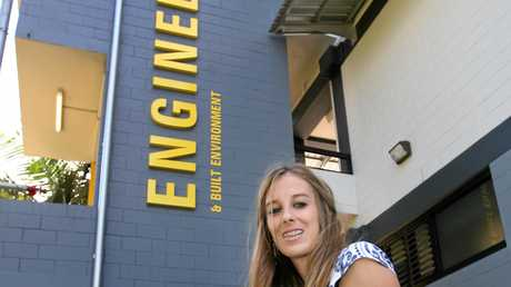 HIGH ACHIEVER: CQ University student Jessica Kahl was hand-selected to attend the Institute of Public Works Engineering Australasia conference this month.
