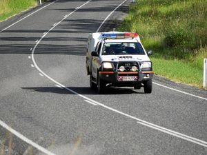 Driver arrested after parking car in middle of Bruce Hwy