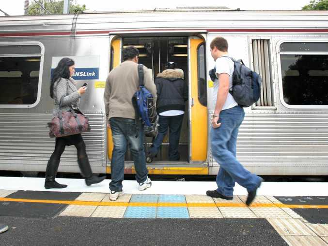 TRAIN PAIN: Residents on the Ipswich-Rosewood line are filthy buses will run instead of trains on weekends.