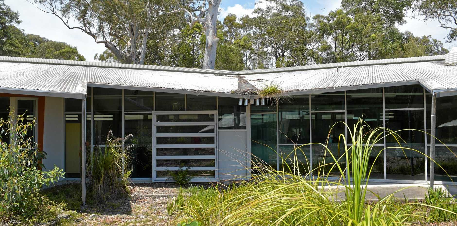 The TAFE Queensland East Coast Tewantin Campus is a sorry sight.
