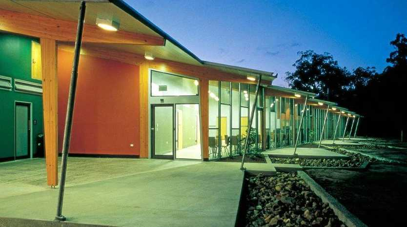 THEN: The Tewantin-Noosa TAFE campus in better days.