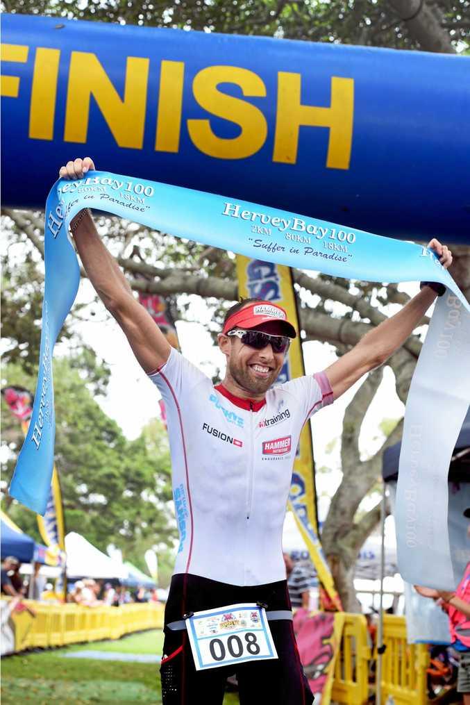 Ricky Swindale takes victory at Hervey Bay.