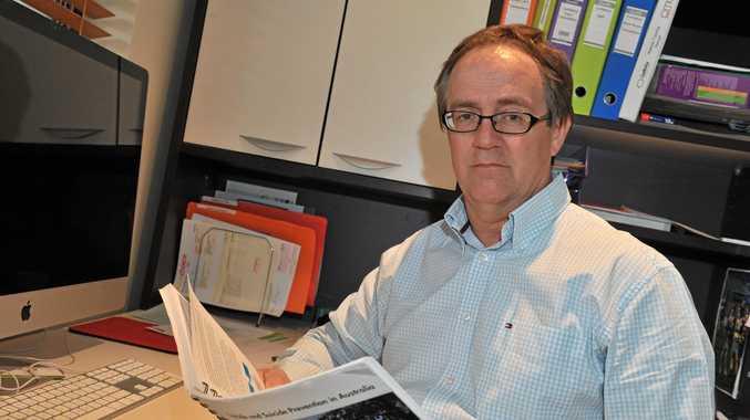 Sunshine Coast mental health expert John Mendoza.