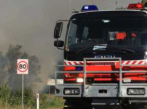 Grass fire breaks out at Wattle Camp