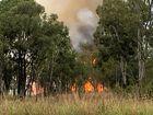 WATCH: Back-burn complete for lightning fire