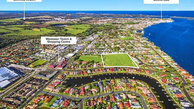 The proposed 38-lot subdivision in Quays Dr, Ballina.