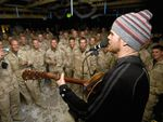 Songs from the front line: Dust of Uruzgan comes to Biloela