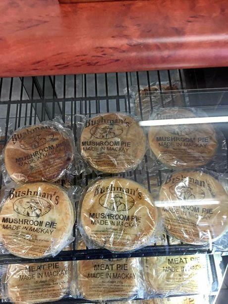 Bushman's beef and mushroom pies.