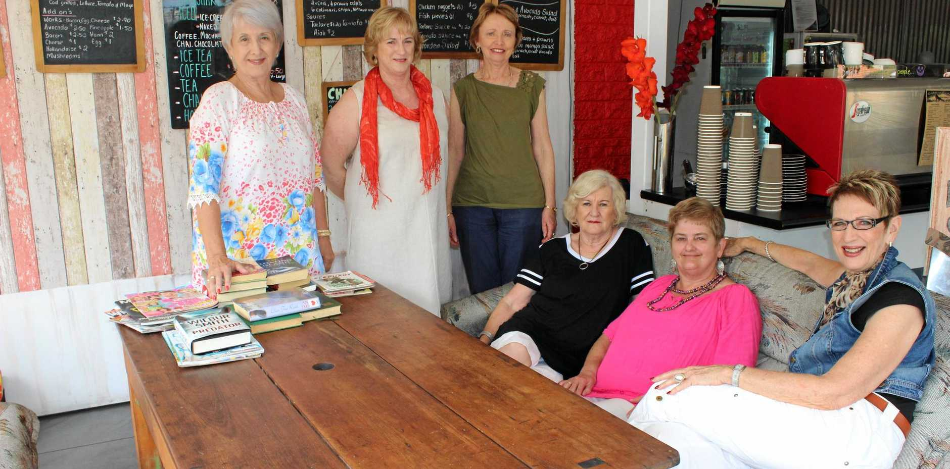 ROLE MODELS: Local grandmas celebrate the launch of the book.
