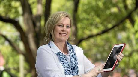 DIRECTORY IN YOUR POCKET: Arlene Molden is the businesswoman behind smart phone app Toowoomba Local that provides information for residents and tourists.