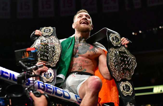 Conor McGregor is now gunning for the UFC itself.