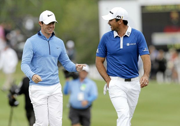 Battle for No.1 .... Rory McIlroy and Jason Day.