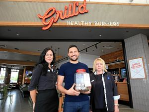 Local restaurant grilling up some help for disability
