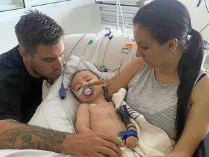 Rare disease: 'Cheeky little guy' fights for his life