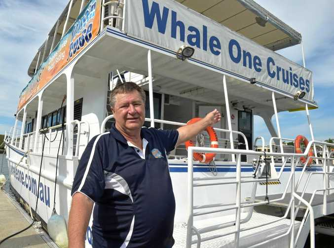 WINNER: John Matterson's business Whale One has won the Sunshine Coast Tourism Award for best tour operation 2016.