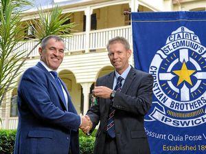 St Edmund's bids goodbye to principal of three years
