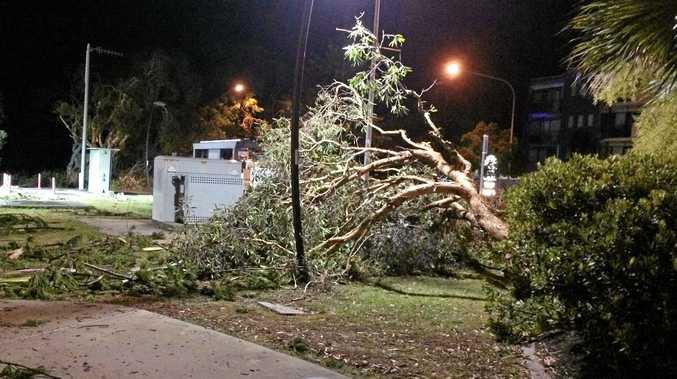 Dicky Beach Storm damage