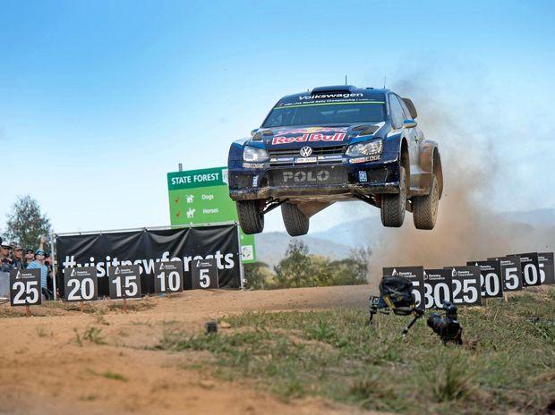 BACK IN TOWN: Sebastien Ogier is back in Coffs, chasing another win to his stellar 2016 WRC season.