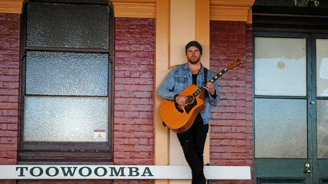MUSIC MASTER: Matt Sneddon performs modern rock solo acoustic gigs around Toowoomba, the Darling Downs, Brisbane and the Gold Coast.
