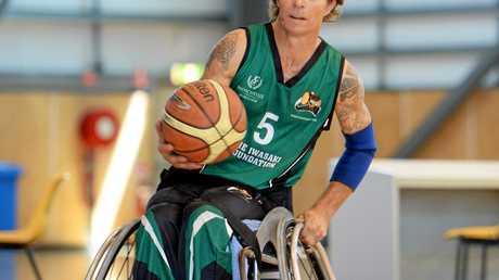 Wheelchair basketballer Jason Holohan.   Photo: Chris Ison / The Morning Bulletin
