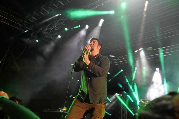 Deftones play Riverstage in Brisbane.