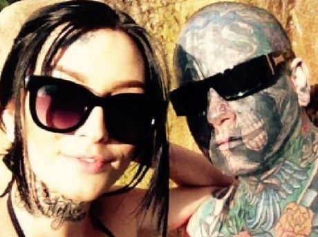 Shelsea Schilling and Bronson Ellery had dated on and off while the bikie associate was in and out of prison.