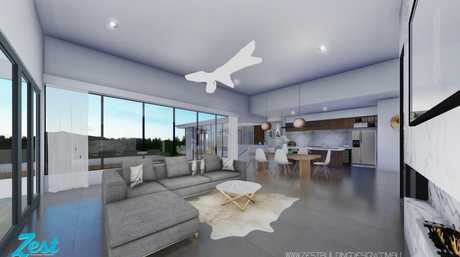 Artist's impressions of 23 Windemere Terrace Mount Lofty.