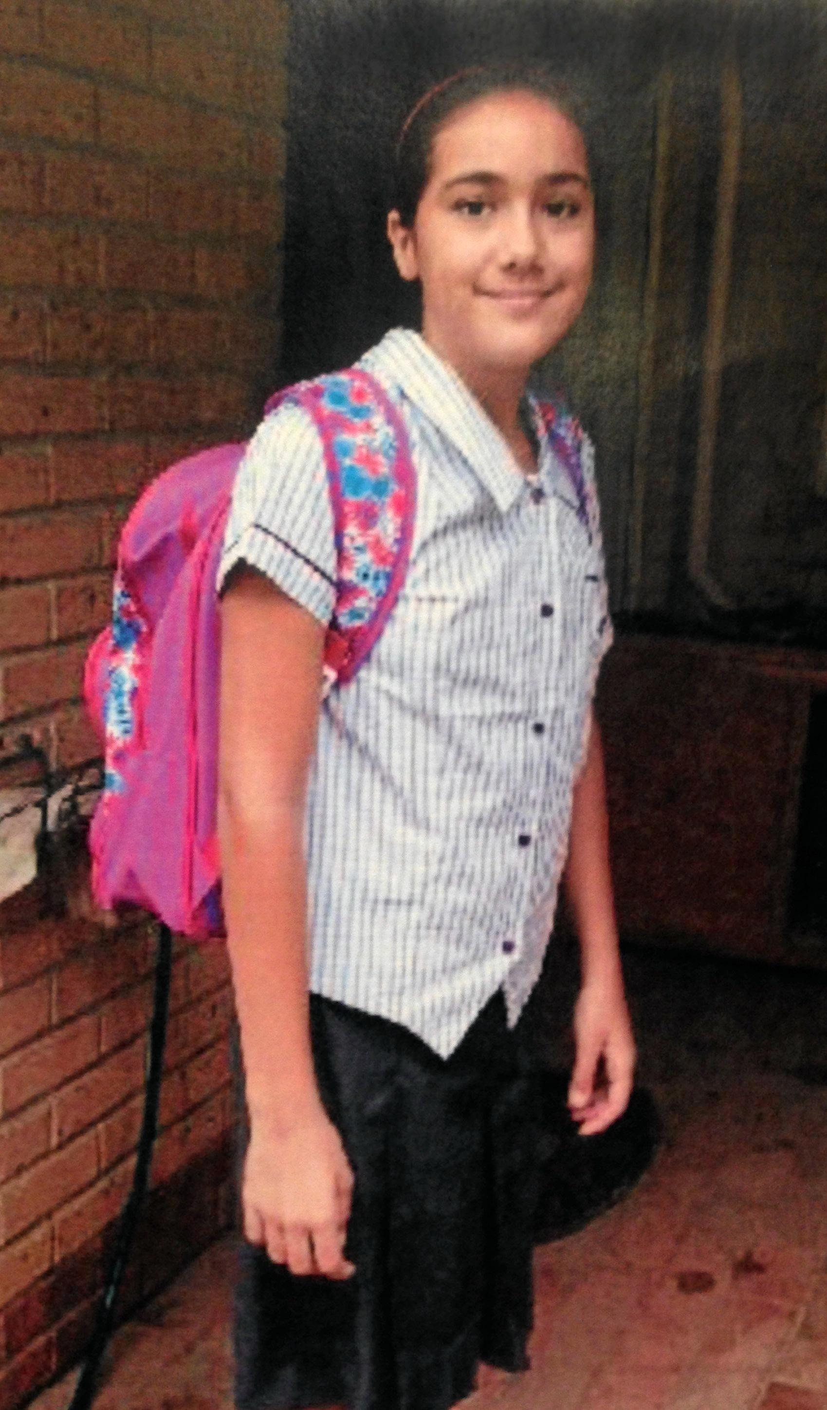 Tiahleigh Palmer, 12, whose body was found on the banks of the Pimpama River on the northern Gold Coast.